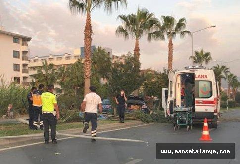 Rus turist kaza kurbanı