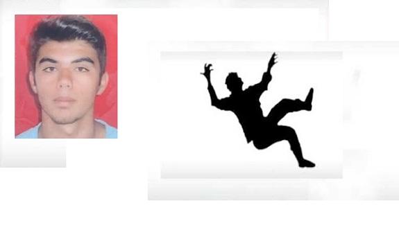 3 metre yükseklikten düşerek hayatını kaybetti!