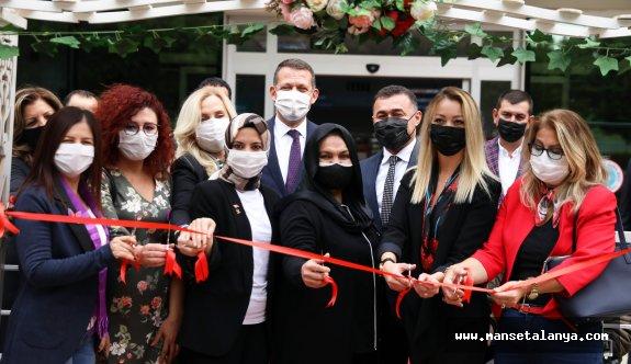 Alanya'da aile ve kadın destek merkezi açıldı!