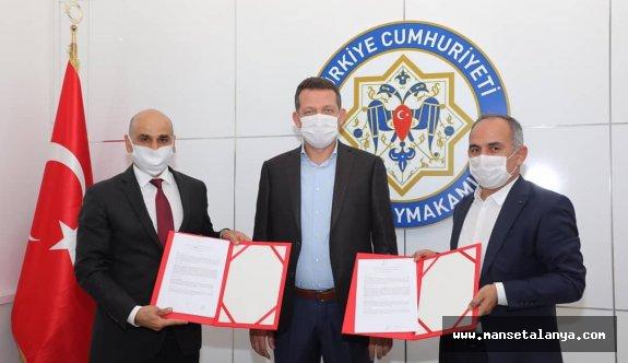 Alanya'da Genç Ofis protokolü imzalandı