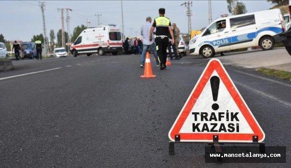 Alanya'da ölümlü trafik kazası!
