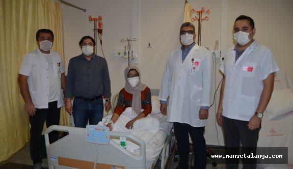 Alanya'da onkoloji ünitesinin ilk adımı atıldı
