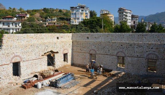 Alanya Gülevşen Camii yeniden hayat buluyor!