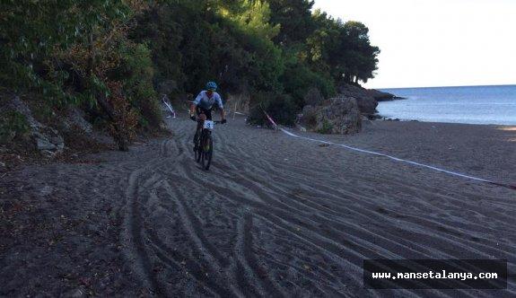 Alanya Uluslararası dağ bisiklet yarışı yapıldı!