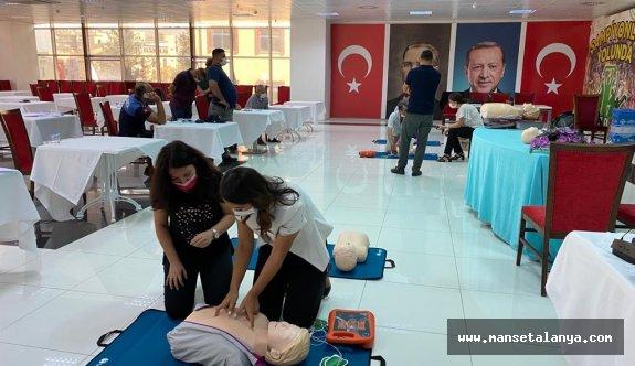 ALKÜ'den Serik belediye personeline eğitim!