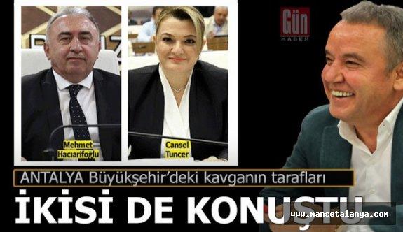Antalya Büyükşehir'deki kavganın tarafları konuştu