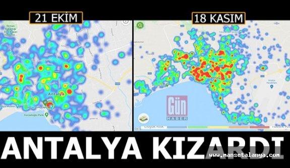 Antalya'da kırmızı alarm