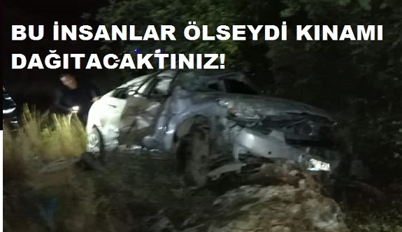 Elikesik muhtarını isyan ettiren kaza! Antalya büyükşehir sen ne iş yaparsın!