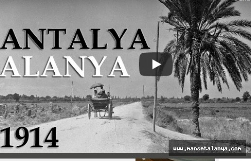 Eski Antalya ve Alanya, 1914