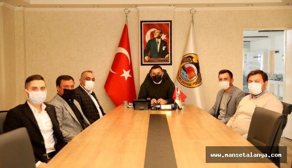 MHP turizm komisyonu ziyarette