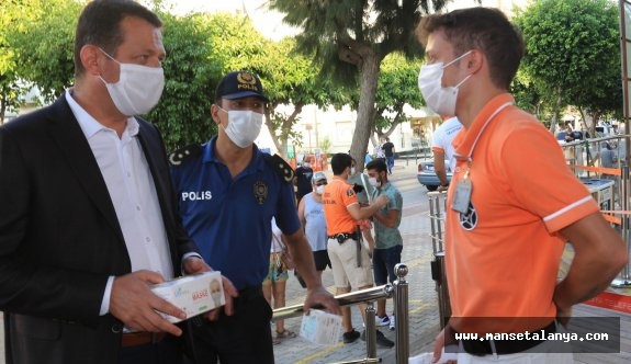 Alanya'da 114 vatandaşa ceza