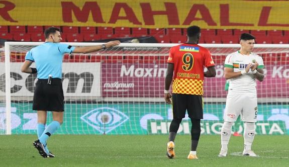 Alanyaspordan Göztepe maçı açıklaması: VAR'a gitti ofsayt belirledi!