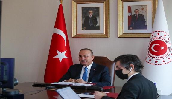 Bakan Çavuşoğlu'da deprem açıklaması!