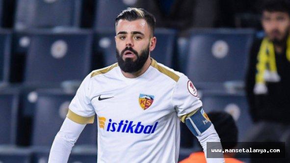 İsmi Galatasaray ile de anılan Acar, Alanyaspor ile anlaştı!