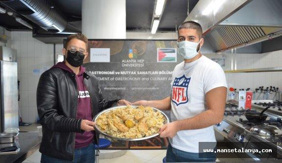 Alanya HEP'te Filistin Mutfağı