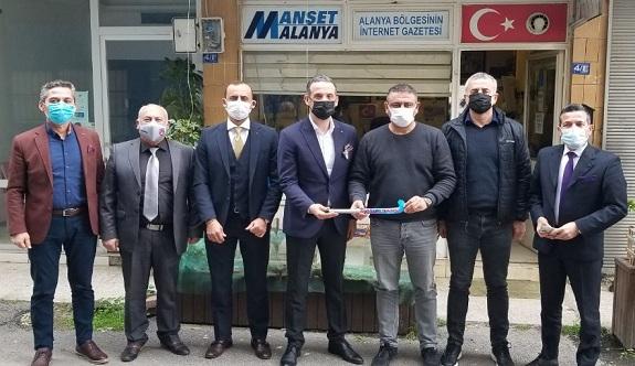 Alanyastras hokey kulübünden Manşet Alanya'ya ziyaret!