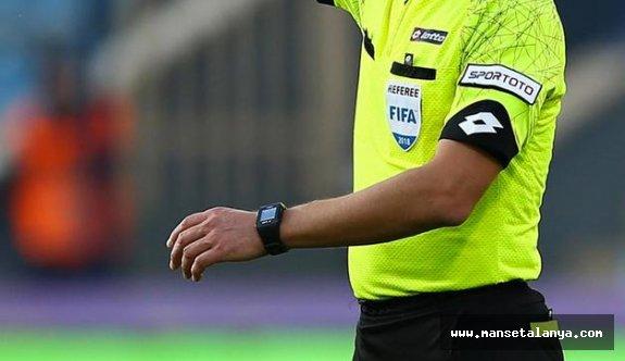 İşte Erzurumspor-Alanyaspor maçının hakemi!