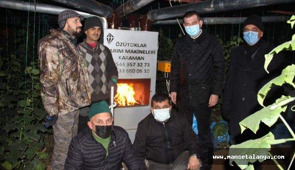 MHP'liler çiftçilerin yanında