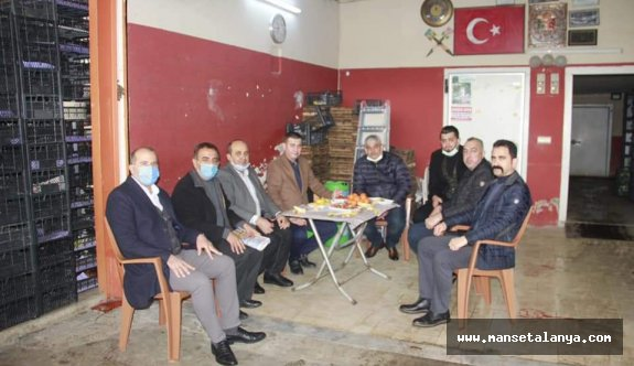 MHP'liler sıkıntıları dinlemeye devam ediyor