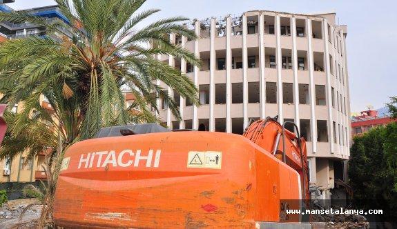 Syedra Prencess Otel yıkılıyor!