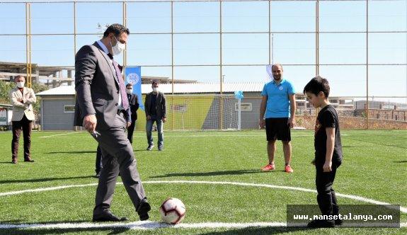 ALKÜ spor tesisi açıldı!