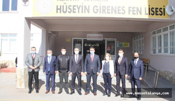 Antalya Fen Liseleri Buluşmasının ilki Alanya'da yapıldı!