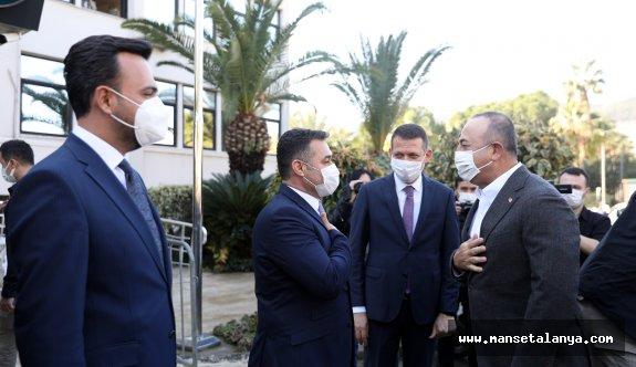 Bakan Çavuşoğlu ile Başkan Yücel'den basına kapalı toplantı!