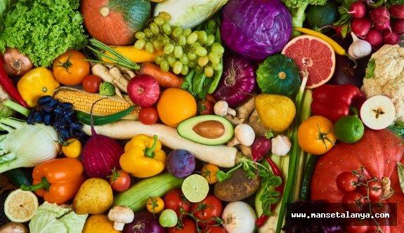 Bazı sebze ve meyveler seçilemeyecek!