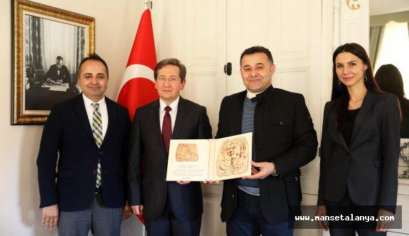 Belarus büyükelçisi Alanya'da!