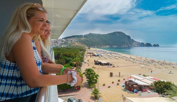 Dünya'nın en iyi plajı Alanya kleopatra