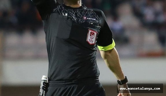 İşte Kayserispor-Alanyaspor maçının hakemi!