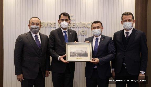 Kaymakam ve Başkan'ın Ankara çıkarması!