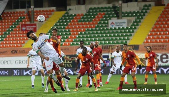 Oynayan Alanyaspor , 3 puan Galatasarayın!
