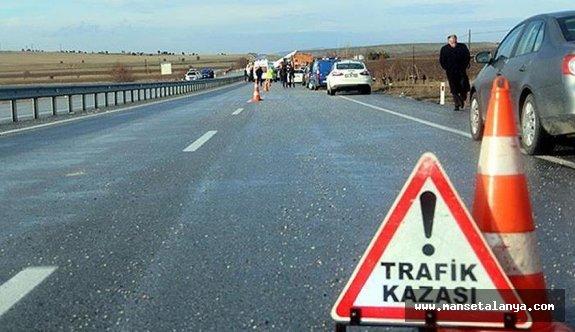 Alanya'da araç uçuruma devrildi: 1 ölü 4 yaralı