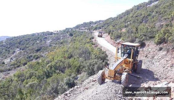 Alanya Kırsalındaki yollar açılıyor!