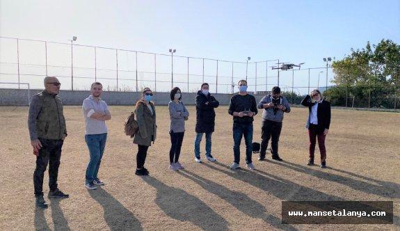 Alanya'da Drone eğitimi verildi