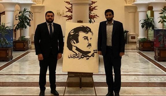 Alanyalı avukat Katar büyükelçiliğinde!
