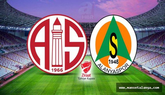 Antalya'yı kupada derbi heyecanı sardı!