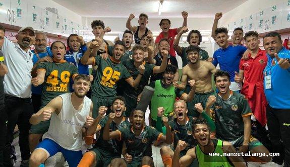Alanyasporlu gençler Beşiktaşa acımadı: 3-2