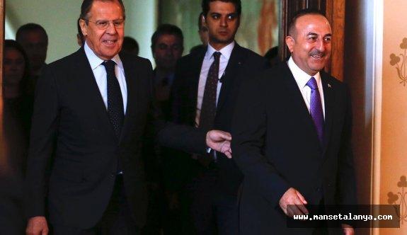 Bakan Çavuşoğlu'ndan Rusya ziyareti açıklaması