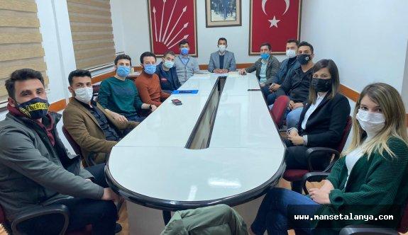 CHP Gençlik toplandı
