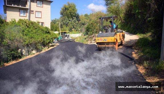 Mahmutlarda asfalt seferberliği