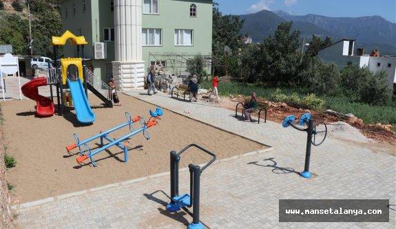 Oba mahallesine yeni oyun parkı!