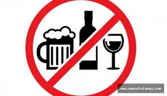 Antalya'da tekel büfeleri kapatıldı, alkol satışı yasaklandı!