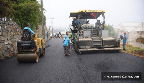 Başkan Yücel, asfalt sözünü yerine getirdi