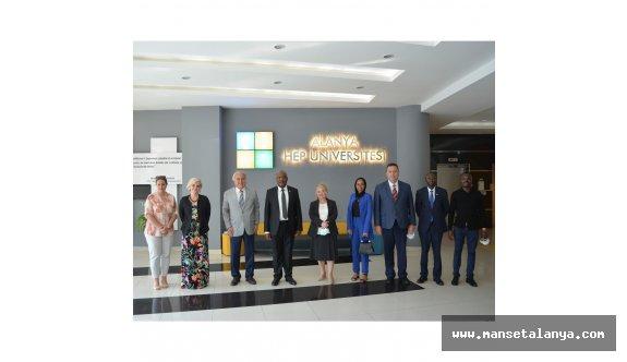Kenya Cumhuriyeti büyükelçisi Alanya'da