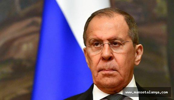 Rusya Dışişeri Bakanı Lavrov'dan Türkiye'ye sert mesaj