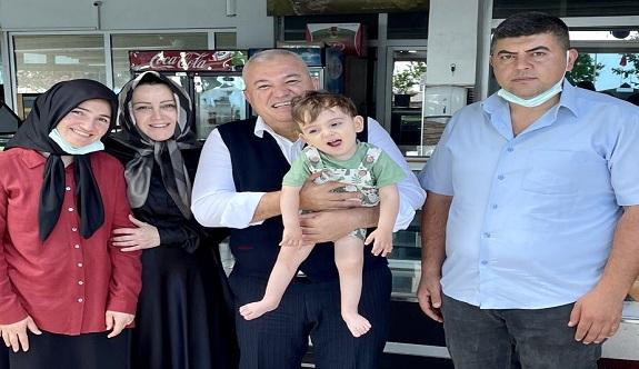 Şahin'den Ahmet bebek için 1 milyon TL bağış!