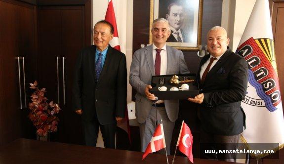 Şahin'den Danimarka Büyükelçisi'ne sıcak karşılama