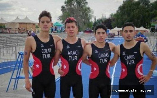 Alanya Belediyesi trıathlon takımı sporcudan başarı